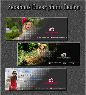 I will Design Creative Facebook Cover, Banner