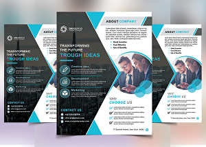 I will design any brochure, flyer, pdf, menu, banner, poster in just 24hrs