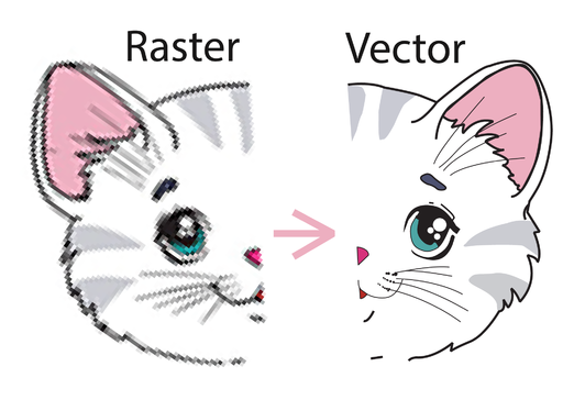vector trace any image, logo, drawing instantly with source files