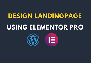 I will Create a WordPress landing page by Elementor pro