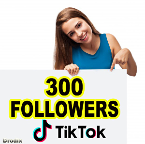 I will I Provide 300 Tik Tok Followers NON DROP