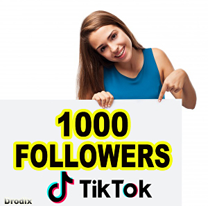 I will Provide 1000 Tik Tok Followers, non drop