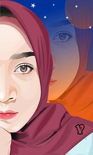 I will draw vector art from your photos