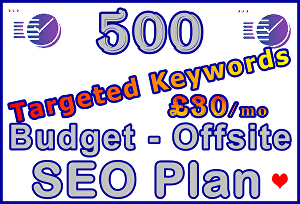 I will Target 500 Keywords with Powerful Proven Offsite SEO Plan
