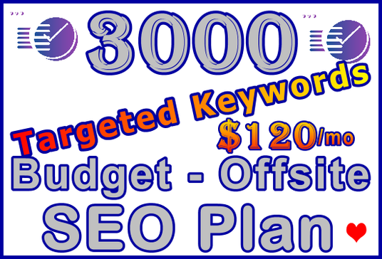 Target 500 Keywords with Powerful Proven Offsite SEO Plan