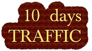 I will drive   Unlimited  Amazon,  Ebay, Etsy, shopify visitor traffic for 10 days to your shop s