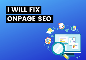 I will fix onpage seo in your WordPress website