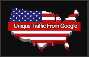 I will add real website traffic from google
