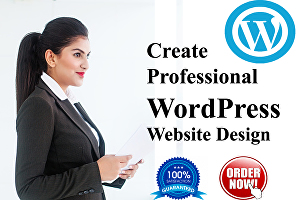 I will build a Professional WordPress Website or blog and business site