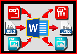 I will convert PDF or image files to editable word documents