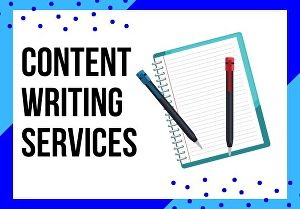 I will do content writing on any topic