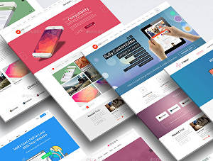 I will create an amazing HTML CSS website for you