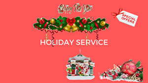 I will design holiday logo, image, flyer and card