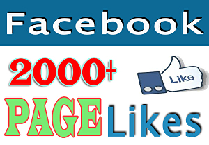 I will Add 2000 Real Fb Page Likes
