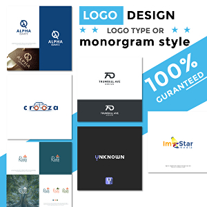 I will design logo monogram and stand out concepts