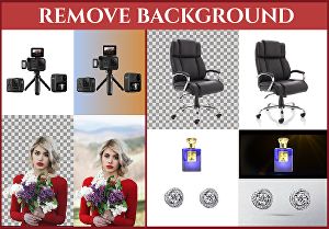I will do background removal fast and professionally