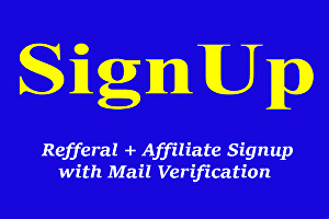 I will do 50+ Referral Signup worldwide or USA based