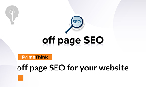 I will do off page SEO for your website