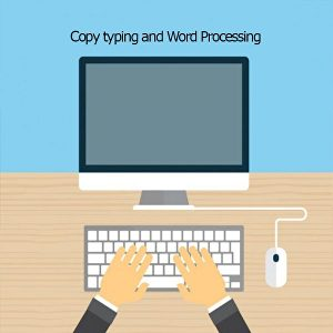 I will do fast copy typing jobs manually