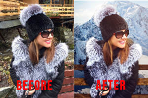 I will professionally Photoshop your image editing  services retouch