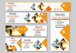I will design professional and attractive banner adds