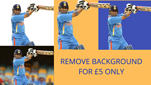 I will professionally remove background and retouch 35 images