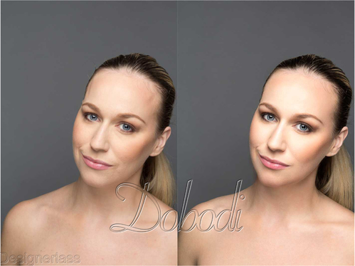 retouch your beauty images in a fashion magazine style