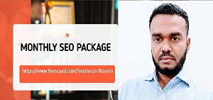 I will do Monthly SEO