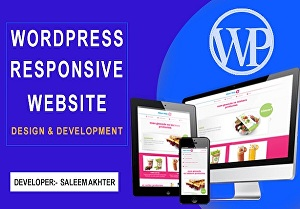 I will create Wordpress Website Design and Blog