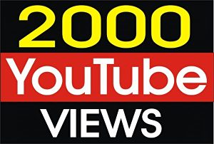 I will deliver 2,000 Targeted YouTube views