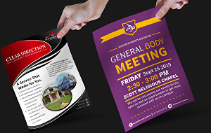 I will Design Brochure, Flyer and Poster