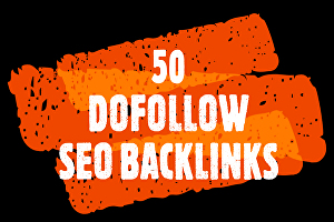 I will Do 50 High PR Authority Dofollow SEO Backlinks