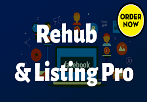 I will Fix or Design Full site Using Rehub or ListingPro Theme  within 1 day