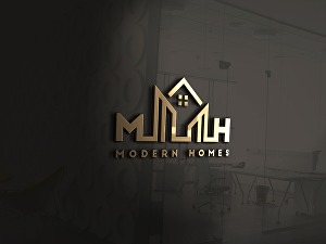 I will design luxury real estate logo in 24 hours