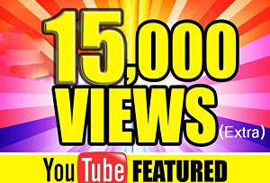 I will provide 15k youtube views and 600 subscribers