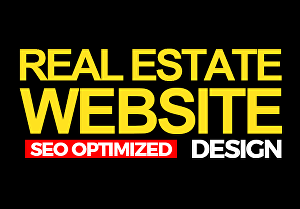 I will design a Real Estate Website With IDX