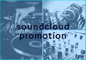 I will provide real sound cloud promotion for tracks