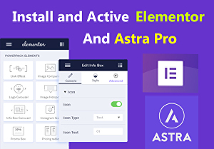I will Create a Professional WordPress Website with Astra Pro and Elementor Pro