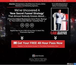 I will build your sales funnel in clickfunnels