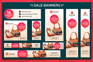 I will make awesome banner for Google adwords , header, web ads for you