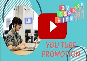I will do professional you tube video promotion marketing