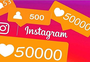 I will give you 500 Social Media Followers, Views, Likes - Real Accounts