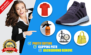 I will do 10 product images background removal within 24 hours