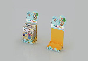 I will Design 3d Product Display for Retail
