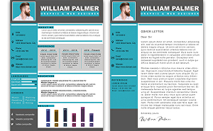 I will make you a custom-designed cv, resume in less than 24h