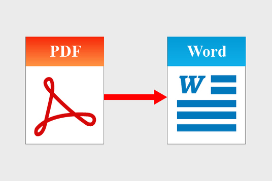 convert your PDF document to MS word and format