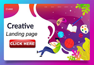 I will design wordpress landing page using elementor pro