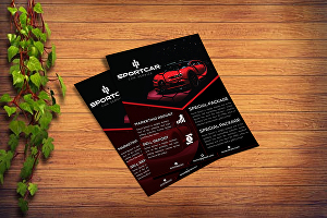 I will design flyer, brochure and menu