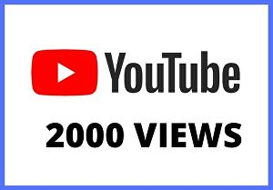 I will give you 2000 views for your video