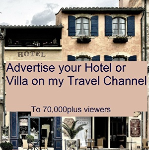 I will Advertise your Hotel , Villa or Tours on a Travel Channel with over 250,000 viewers